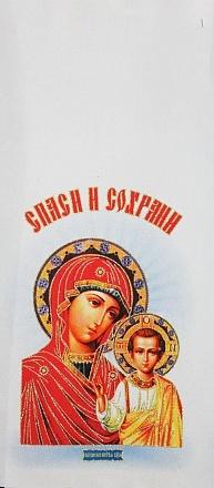 Рушник с иконами/свадебный, креп. Р2634
