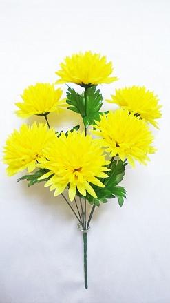 Букет хризантем «Помпон» 6г.Н=50см  Б587