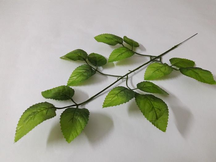 Лист розы 15 листов Н=45см. В201