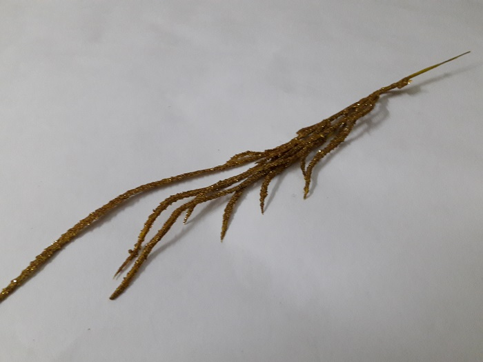 Ветка травка мерцающая Н=40см Б/С В2673