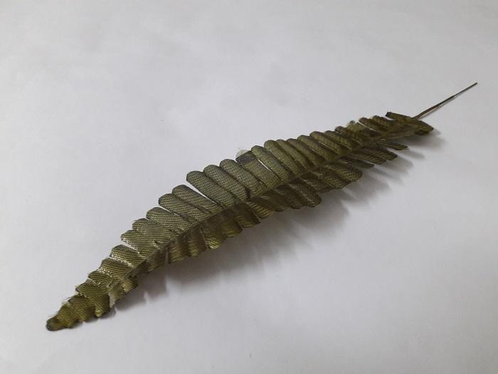 Лист папоротника (парча) Н=35см. А200