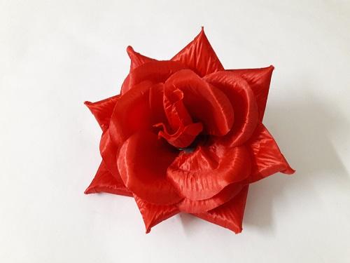 Роза атласная «Ярослава» d=16см Б/С Г7653