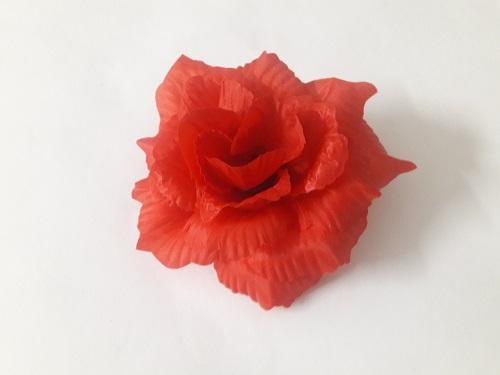 Роза рифленая «Зорница» d=14см Б/С Г7202