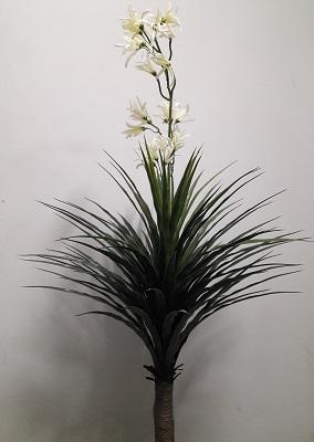 Дерево пальмы с цветком Н=145см. Д5241