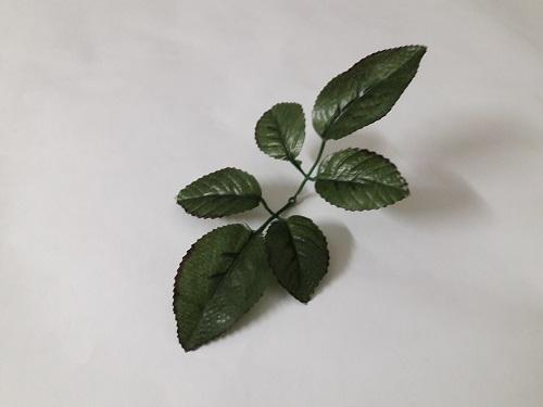 Листья розы 6 листов Б/С 09.304.143.25