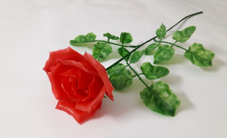 Роза одиночная Н=56см Б/С П5165