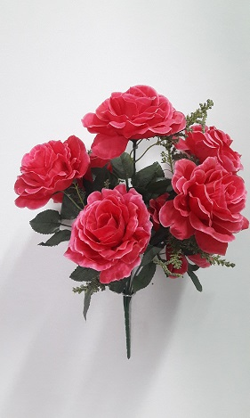 Букет роз «Аленка» 7гол.Н-40см Б296