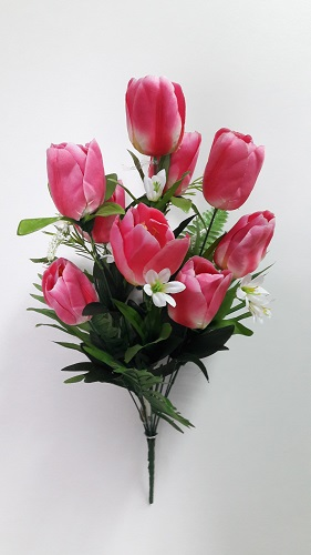 Букет тюльпанов «Маяк» 10г.Н=58см Б/С  НК740