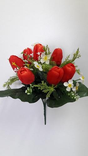 Букет тюльпанов «Сулейман» 7г.Н=35см. Б535