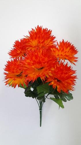 Букет хризантем «Вильям» 7г. Н=60см  Б225