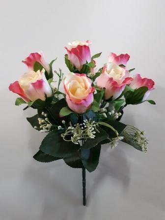 Букет бутонов роз «Салют» 9г. Н-35см Б/С   Б518