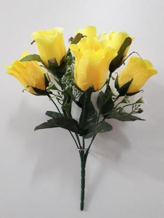 Букет бутонов роз «Рыцарь» 7г.Н=30см Б/С  Б512