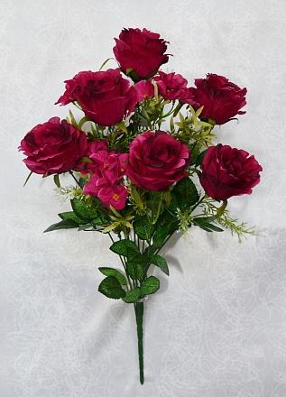 Букет роз «Вальс» 6г.+5вет.Н-53см Б/С  Б263