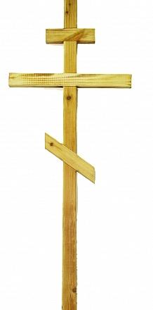 Крест сосновый отоженный Н=210см. Р2450