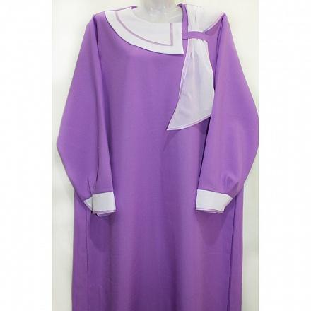 Платье ритуальное «Прима» гардин. Р2995