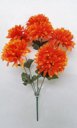 Букет хризантема «Троль» 6г.Н=48см  Б466