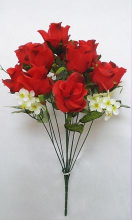 Букет роз «Жемчуг» 12г.Н=53см. Б514