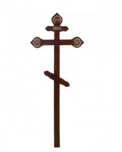 Крест сосновый Н=220см Б/С  Р6900