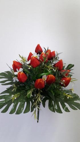 Букет тюльпанов «Пицунда» 16г.Н=40см Б/С   Б51