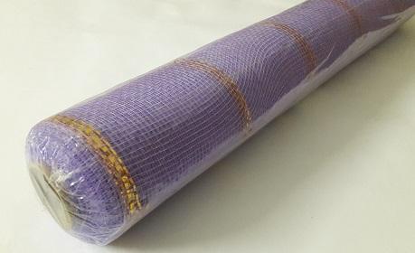 Сетка для цветов золотая полоса, шир.=53см Б/С ЛС1520