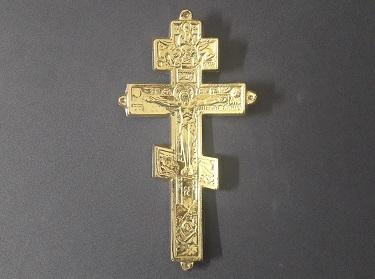 Крест с распятьем средний К-12. Ф1974