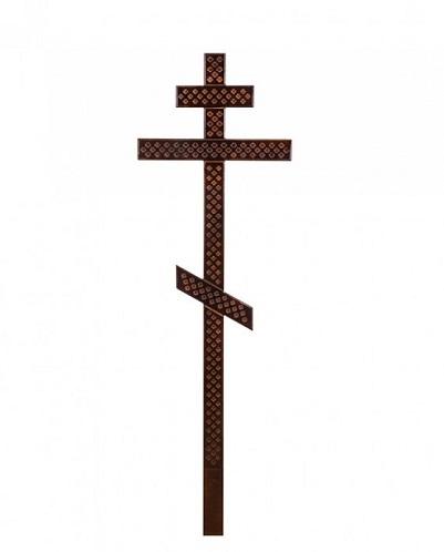 Крест сосна прямой с накладкой Н=210см. Р2162