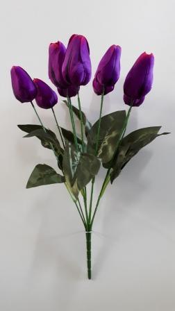 Букет тюльпанов высоких 9гол. Н56см Б/С Б683