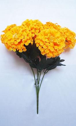 Букет хризантем «Шар» 7гол. Н-48см Б566