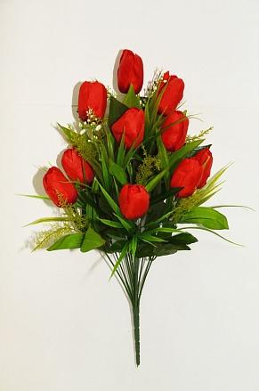Букет тюльпанов «Помадка» 14гол. Н-50см Б62