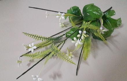 Подбукетник лист хризантемы 7гол. Н-69см. М16