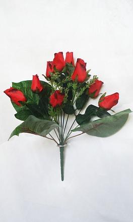 Букет бутончиков роз «Дуняша» 9гол. Н38см Б/С Б602