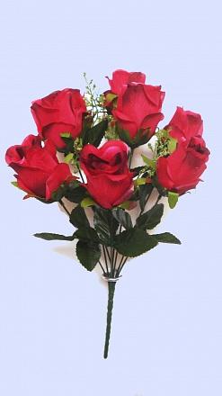 Букет бутонов роз «Кристофор» 8гол. Н-40см Б/С  Б676