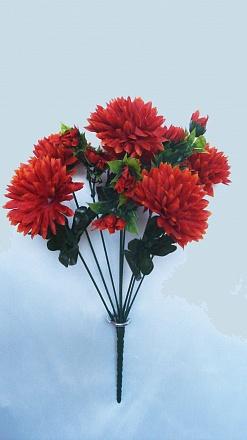 Букет хризантем «Леший» 9вет. Н38см Б695