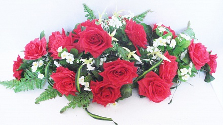 Подставка роза с хлорафит. «Александрия» ПД4691