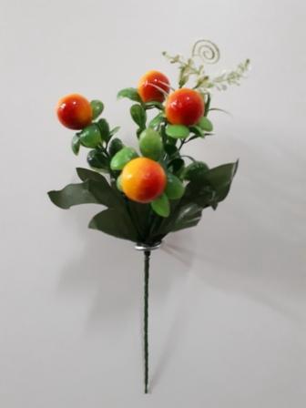 Букет ягодок 4г. Н-21см  АК481