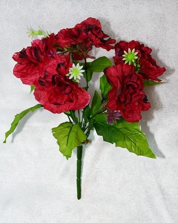 Букет роз плоских «Гармонь» 7гол.Н-34см Б197