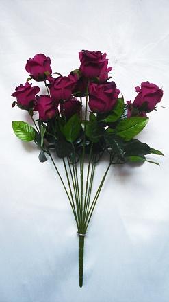 Букет роз «Кларо» 12гол.Н-60см Б\С Б674