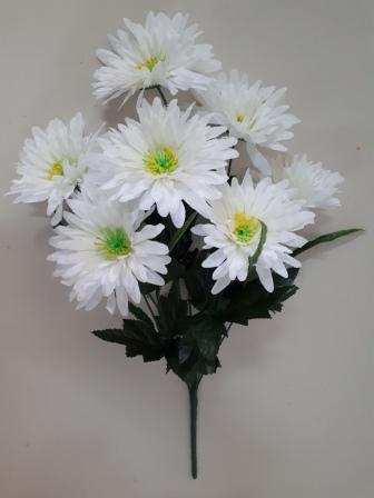 Букет хризантем «Веер» 7гол. Н-58см Б/C  АК675
