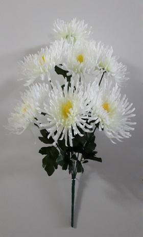Букет хризантем «Аврора» 7гол. Н-70см  Б815
