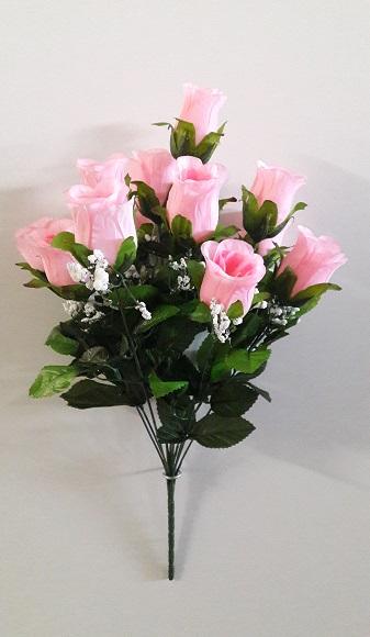 Букет бутонов роз с кашкой «Хит» 12г. Н-50см  АЛ10603