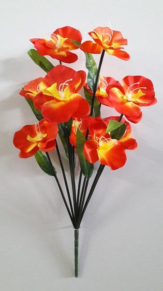 Букет орхидей «Симона» 10г. Н-62см  АК018