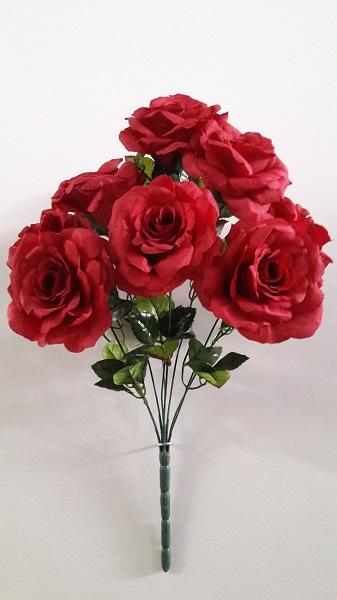 Букет роз крупных «Симфония» 9г. Н-56см Б/С   АЛ9941