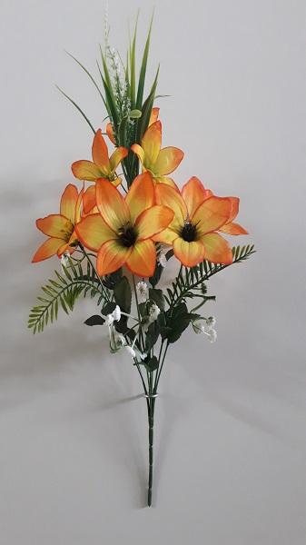 Букет орхидей «Элипс» 8гол. Н-43см Б/С  Б918