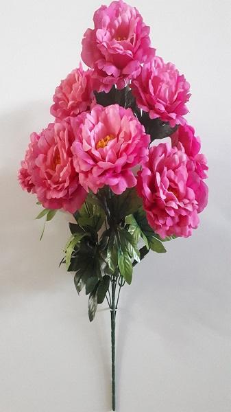 Букет розы пионовидной «Шекспир» 9гол. Н-60см Б/С Б887
