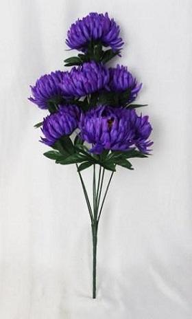 Букет хризантемы «Жюли» 7г. Н-60см. Б/С  Б1008