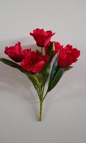 Букет тюльпана «Фокстрот» 7г. Н-50см. Б/С  Б1033