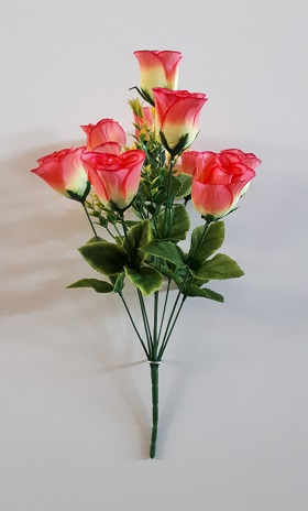 Букет бутонов роз «Вика» 9гол.Н-46см Б/С Б1055