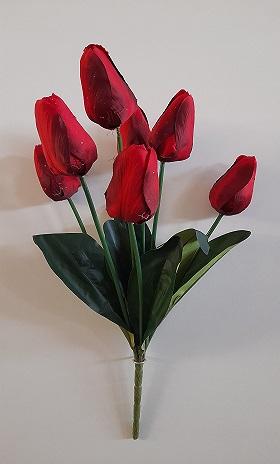 Букет тюльпанов «Неженка» 7г. Н-55см. Б/С  Б1035