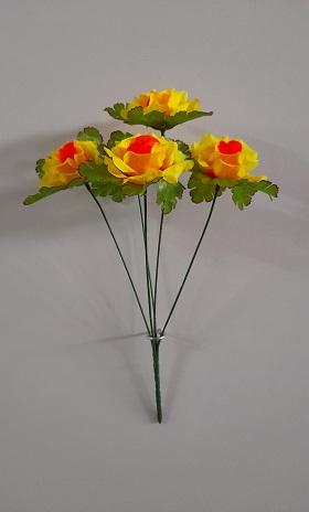 Букет роз «Злата» 5г.Н-37см Б/С  Б1046