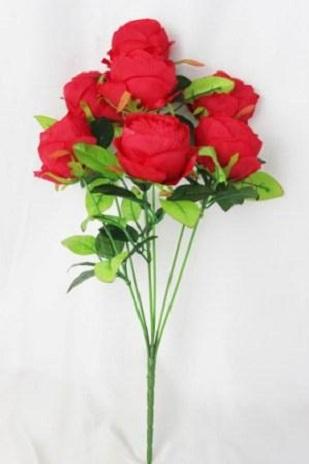 Букет бутона розы-пион.многослойный 7гол. Н-57см Б/С Б1066